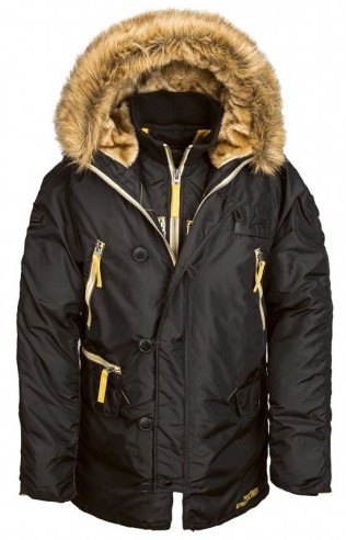 Аляска Inclement Gen I Parka Black (черная)
