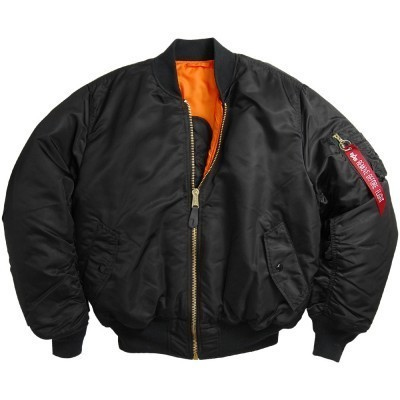 MA-1 Flight Jacket Черная