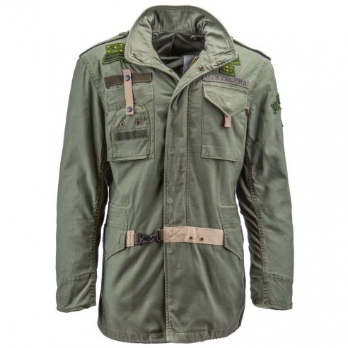 Куртка ALPHA 50th ANNIVERSARY M-65 olive