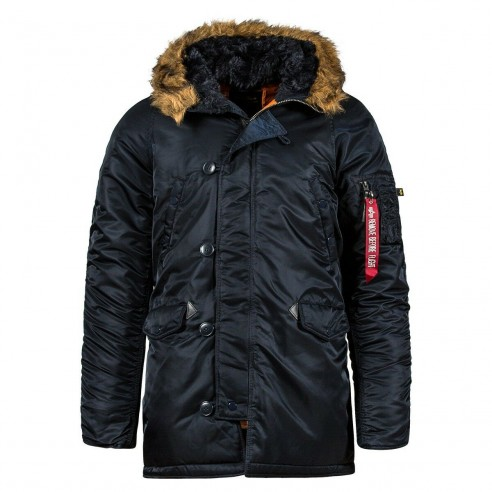 Куртка Аляска N-3B Slim Fit Gen I Parka (replica blue/ orange)