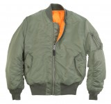 MA-1 Flight Jacket Зеленая